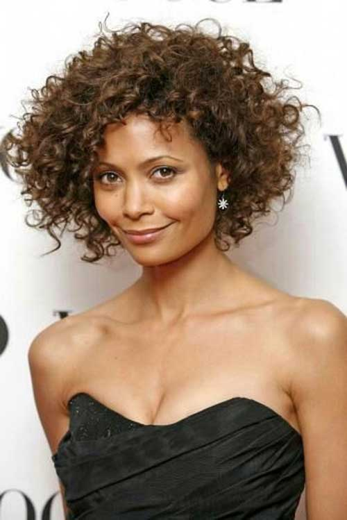Cute Short Curly Natural Hairstyles