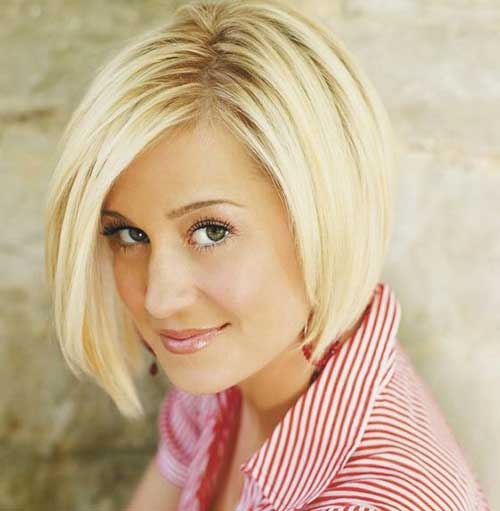 Cute Short Hairstyles for Rounded Face
