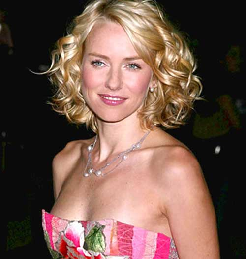 Cute Short Haircuts for Curly Thick Blonde Hair