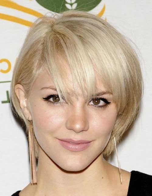 Cute Short Haircuts for Thin Fine Platinum Hairstyles