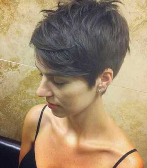 Cute Short Layered Pixie Hairstyles