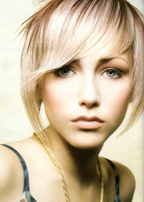 Cute Short Layered Thin Hairstyles