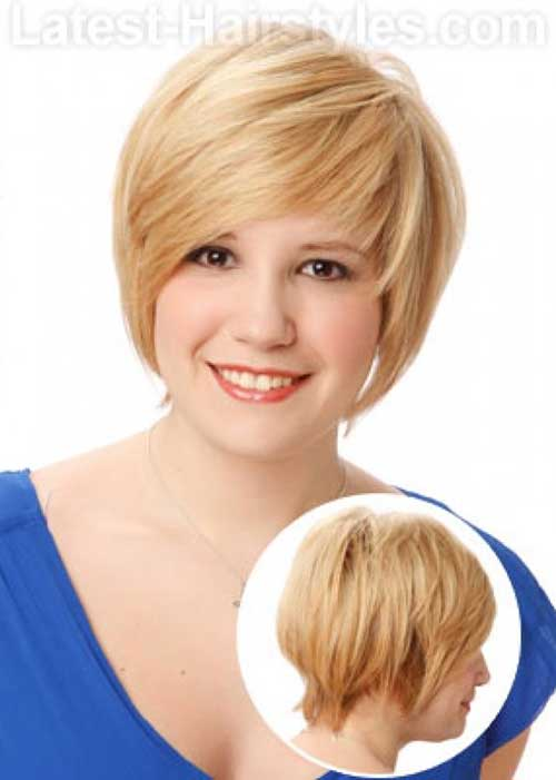 Cute Short Pixie Haircuts Ideas for Chubby Faces