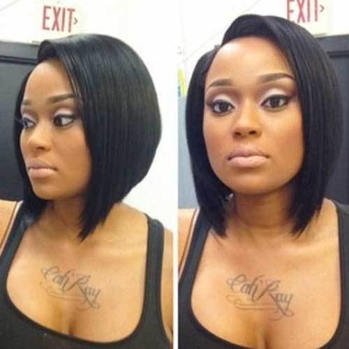 Remarkable 20 Cute Bob Hairstyles For Black Women Short Hairstyles 2016 Hairstyles For Men Maxibearus