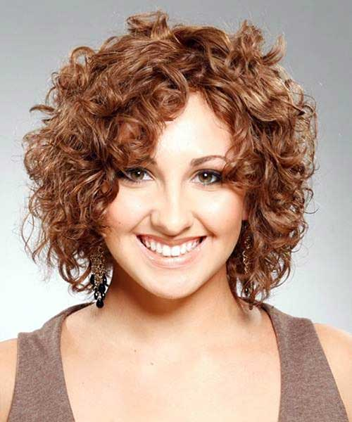 Stupendous 15 Easy Hairstyles For Short Curly Hair Short Hairstyles 2016 Hairstyle Inspiration Daily Dogsangcom