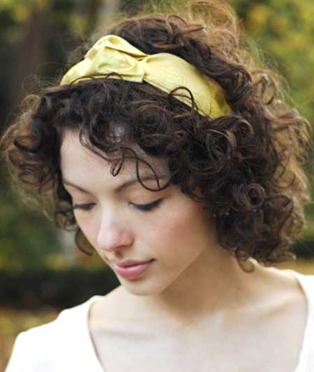 15 Easy Hairstyles For Short Curly Hair