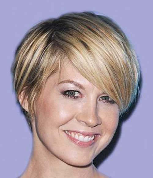 Fine Short Hairstyles for Over 40