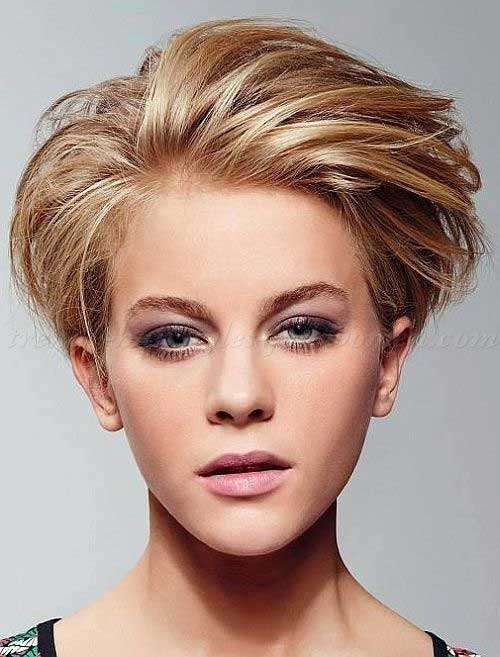 Funky Short Blonde Haircuts