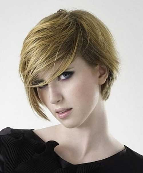 Funky Short Bob Haircuts 2014