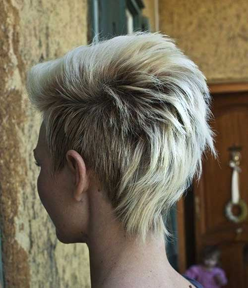 Hairstyle Ideas for Short Mohawk Haircut