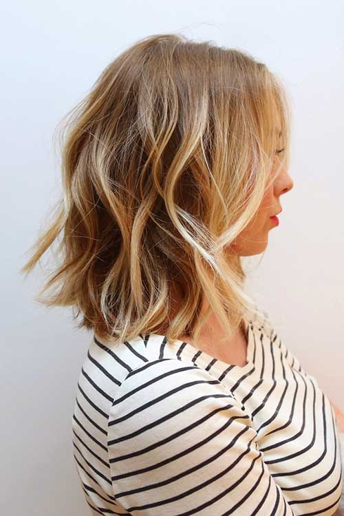Highlighted Blonde Bob Hairstyles Picture