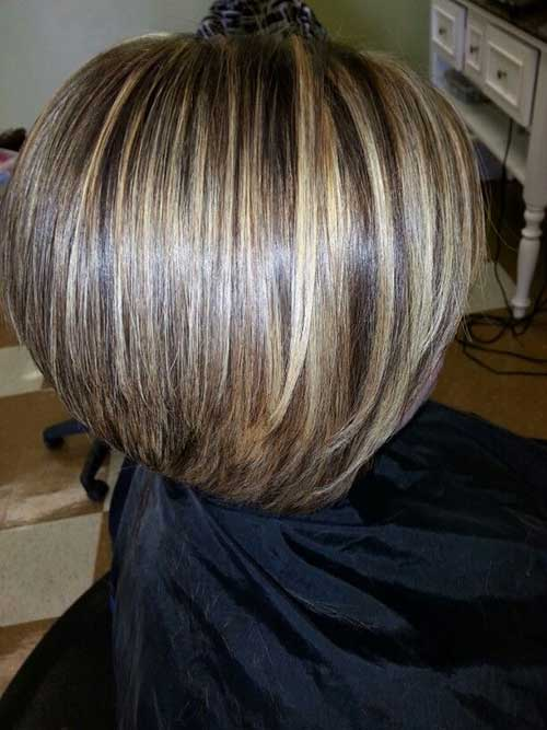 Magnificent 15 Highlighted Bob Hairstyles Short Hairstyles 2016 2017 Hairstyles For Women Draintrainus