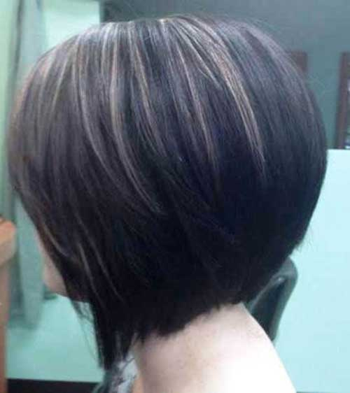 Highlighted Dark Bob Hairstyles