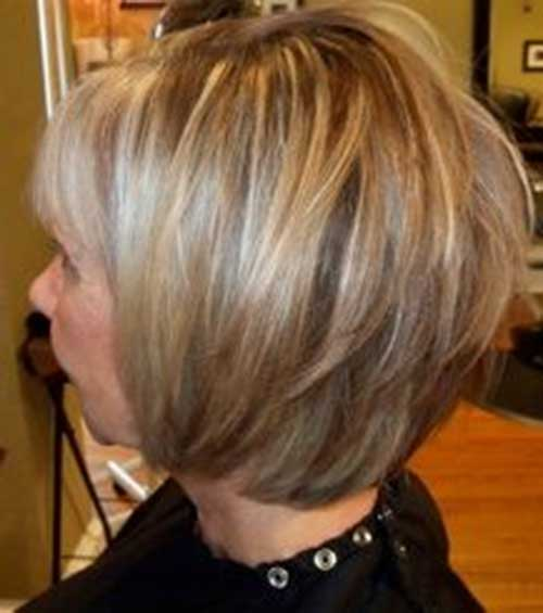 Highlighted Layered Bob Hairstyles Ideas