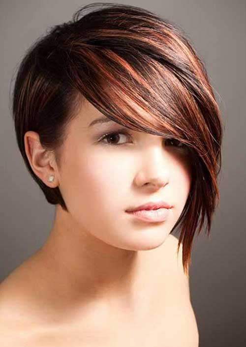 Highlighted Red Bob Hairstyles Ideas