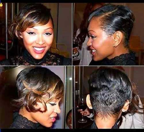 Images of Short Black Hair Cuts