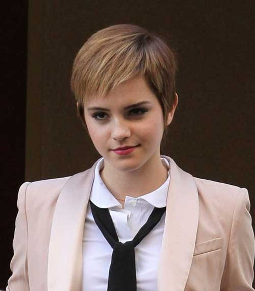 Images of Short Blonde Pixie Hair