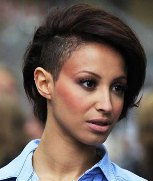 Images of Short Hair with Undercut Style