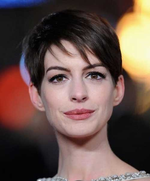 Images of Short Layered Pixie Hair Cuts