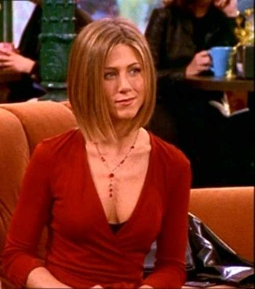 Jennifer Aniston Brown Blonde Bob Hairstyles