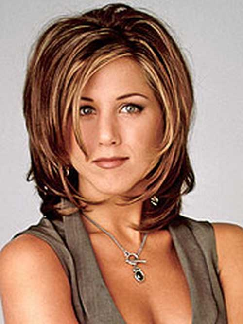 Jennifer Aniston Layered Bob Haircuts