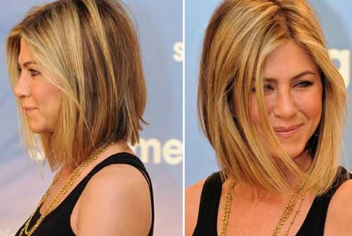 Jennifer Aniston Line Bob Haircuts