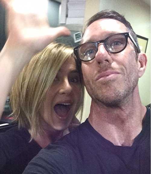 Jennifer Aniston Lovely Bob Haircuts