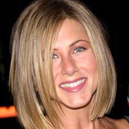 Jennifer Aniston Nice Straight Bob Haircuts