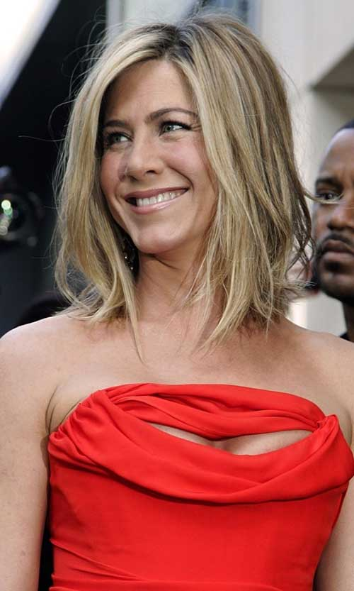 Jennifer Aniston Straight Bob Haircuts