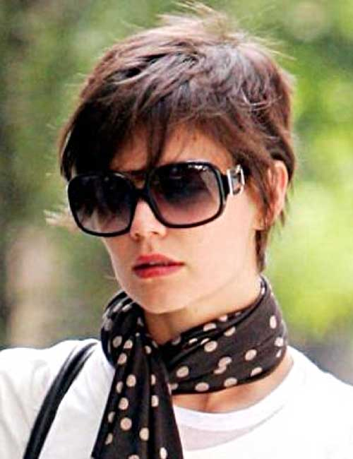 katie holmes pixie cuts short hairstyles 2017 2018