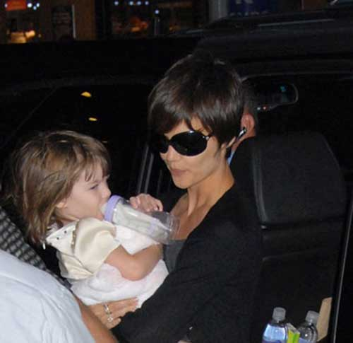 Katie Holmes Best Pixie Haircut