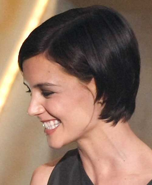 Katie Holmes Pixie Side View