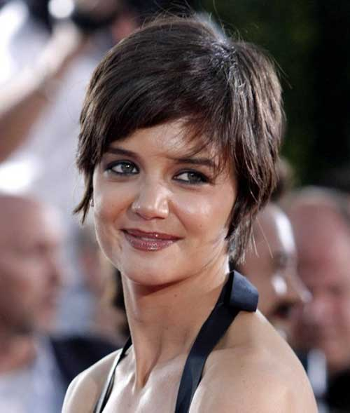 Katie Holmes Pixie Style Haircuts