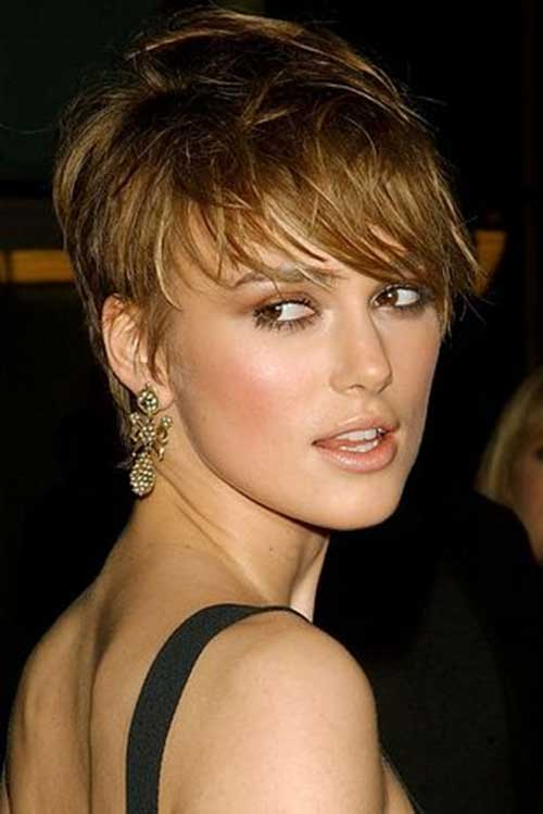 Keira Knightley Chic Pixie Hairstyle