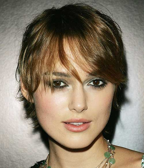 Keira Knightley Lovely Pixie Hairstyle