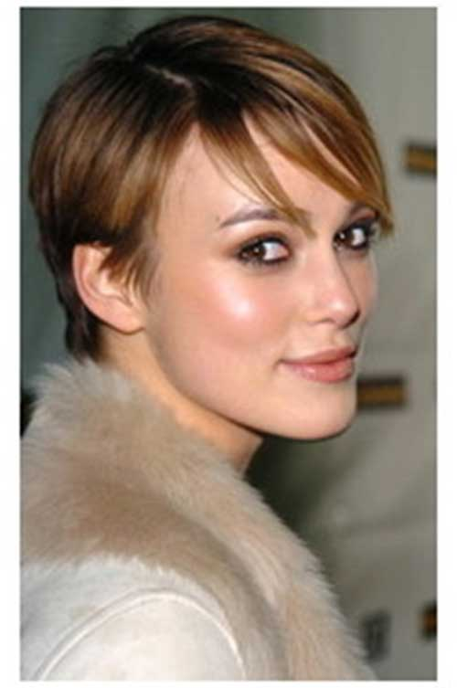 Keira Knightley Thin Pixie Hairstyle Keira Knightley