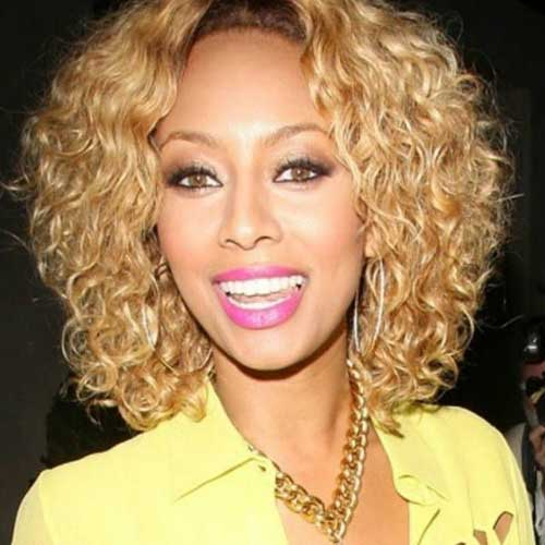 Superb Keri Hilson Curly Hairhairstyles For Curly Hair Short Hairstyles Gunalazisus