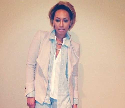 Keri Hilson Blonde Short Bob Nice Hair