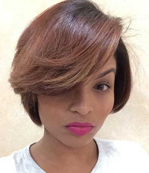 Astonishing 20 Cute Bob Hairstyles For Black Women Short Hairstyles 2016 Hairstyle Inspiration Daily Dogsangcom