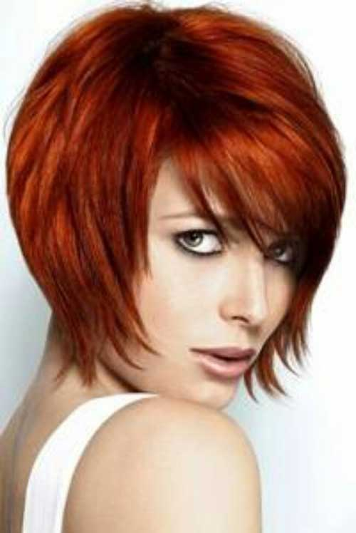 15 Red Bob Haircuts Short Hairstyles 2017 Most Por
