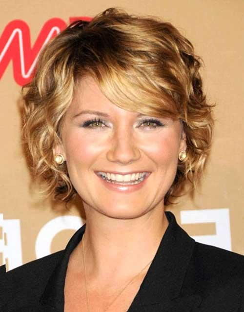 Layered Short Hair for Women Over 40