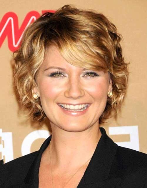 Layered Short Hair for Women Over 40