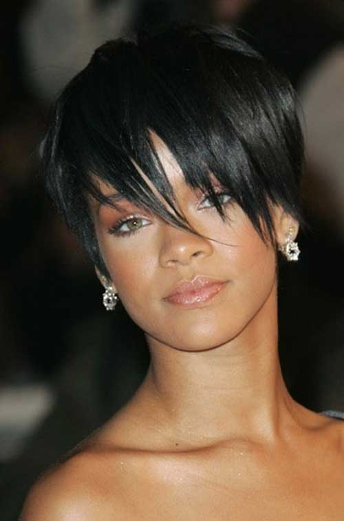 Layered Thin Pixie Straight Hairstyles