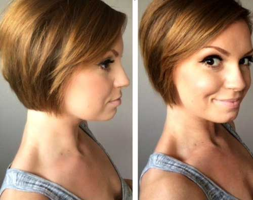 Light Brown Short Haircut Ideas