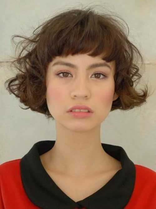 Messy French Bob Hairstyles