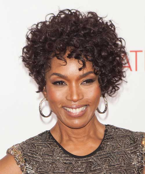Chic Natural Curly Short Hair Cut