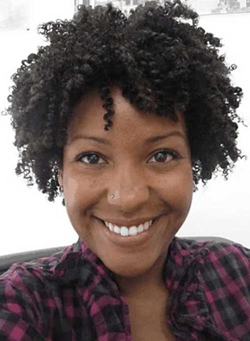 Natural Short Afro Hairstyles