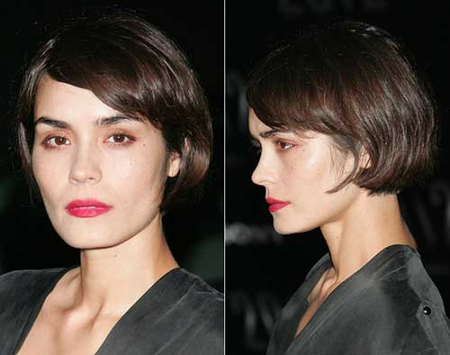 Natural Style French Bob Haircut