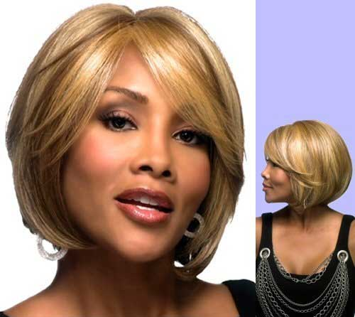 Nice Bob Cut for Black Women Over 40