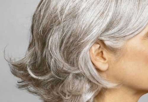 Nice Bob for Grey Hairstyles
